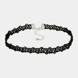 Black Fairy Twisted Choker Collar Necklace