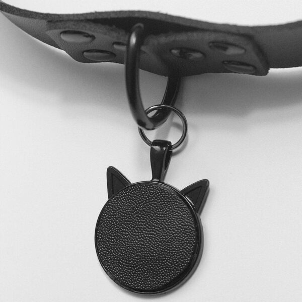Cat Ears Black Choker Necklace Collar