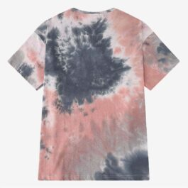 Cloudy Tie Dye T-Shirt Grey Pink Grunge Aesthetic