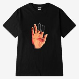 Illusive Hand Black T-Shirt Korean Ulzzang Aesthetic