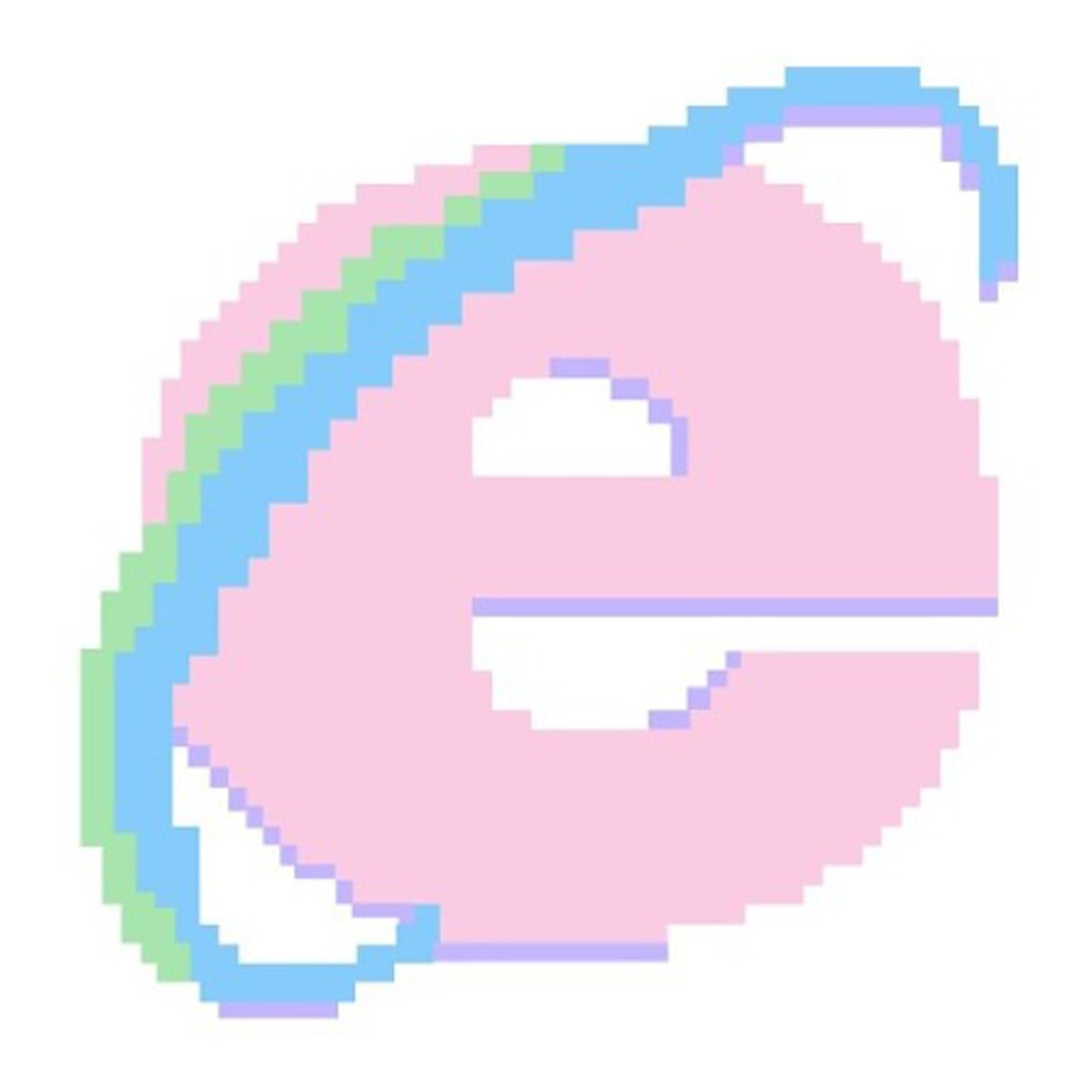 Internet Explorer Logo Icon Soft Pink Tumblr Style What is an EGirl Outstanding History of eGirl Aesthetic Orezoria Blog