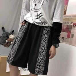 Joy Division Unknown Pleasures Shorts Alt Girl