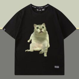 Mur Cat Original Photo T-Shirt Meme Aesthetic 3 - Orezoria Aesthetic Outfits Shop - eGirl Outfits - Soft Girl Outfits