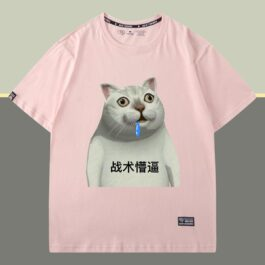 Mur Cat Tactical T-Shirt Meme Aesthetic 2 - Orezoria Aesthetic Outfits Shop - eGirl Outfits - Soft Girl Outfits