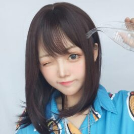 Natural Brown Clavicle Hair Wig Korean Style 1 - Orezoria Aesthetic Outfits Shop - eGirl Outfits - Soft Girl Outfits