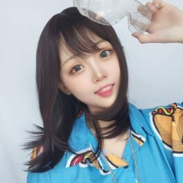 Natural Brown Clavicle Hair Wig Korean Style 2 - Orezoria Aesthetic Outfits Shop - eGirl Outfits - Soft Girl Outfits