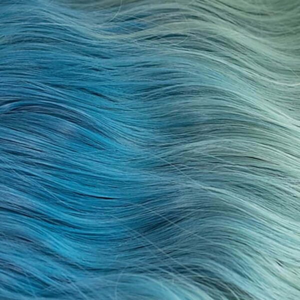 Ocean Blue Gradient Wig Light Wavy eGirl Aesthetic 4 - Orezoria Aesthetic Outfits Shop - eGirl Outfits - Soft Girl Outfits