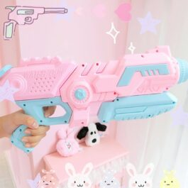 Pastel Pink Water Gun Blaster Toy Soft Girl Aesthetic