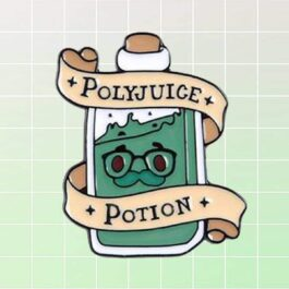 Polyjuice Potion Harry Potter Enamel Pin Badge 1 - Orezoria Aesthetic Outfits Shop - eGirl Outfits - Soft Girl Outfits