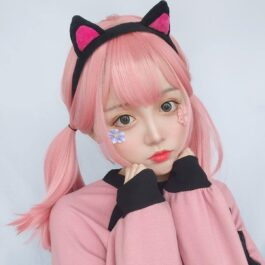Shoulder Long Straight Bang Pastel Hair Wig eGirl Aesthetic 2 - Orezoria Aesthetic Outfits Shop - eGirl Outfits - Soft Girl Outfits