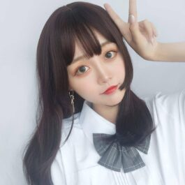 Side Wings Clavicle Hair Wig Cute Korean Aesthetic 2 - Orezoria Aesthetic Outfits Shop - eGirl Outfits - Soft Girl Outfits