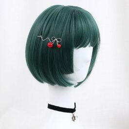 Teal Green Straight Bang Mathilda Wig eGirl Aesthetic 2 - Orezoria Aesthetic Outfits Shop - eGirl Outfits - Soft Girl Outfits