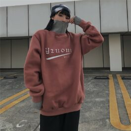 Turtleneck Sweatshirt Yzuoni Warm Korean - Orezoria Aesthetic Outfits Shop - Aesthetic Clothing - eGirl Outfits - Soft Girl Outfits.psd