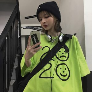 2020 Will Strike You Down Loose T-Shirt 1- Orezoria Aesthetic Outfits Shop - eGirl Outfits - Soft Girl Outfits