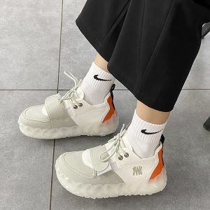 Geometrical Base Velcro Canvas Sneakers 2- Orezoria Aesthetic Outfits Shop - eGirl Outfits - Soft Girl Outfits