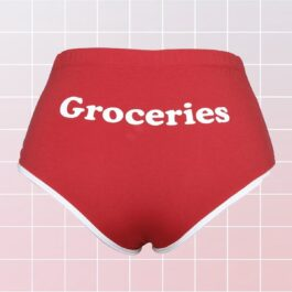 Groceries Panties Print Baddie Aesthetic 2- Orezoria Aesthetic Outfits Shop - eGirl Outfits - Soft Girl Outfits