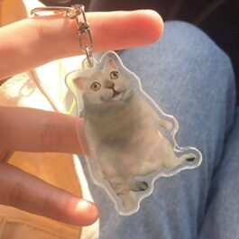 MUR Cat Keychain Pendant Meme Aesthetic - Orezoria Aesthetic Outfits Shop - eGirl Outfits - Soft Girl Outfits