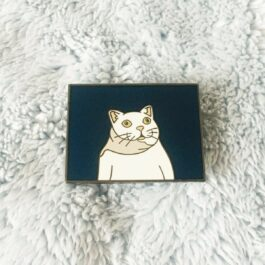 MUR Cat Meme Enamel Pin Badge 2 - Orezoria Aesthetic Outfits Shop - eGirl Outfits - Soft Girl Outfits