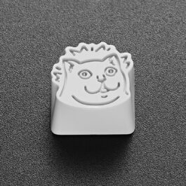 MUR Cat Meme Keyboard Key Cap Metal Mechanical PC Keycap 2 - Orezoria Aesthetic Outfits Shop - eGirl Outfits - Soft Girl Outfits