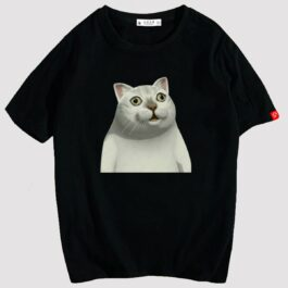 MUR Cat Original Meme Blank T-Shirt 1 - Orezoria Aesthetic Outfits Shop - eGirl Outfits - Soft Girl Outfits