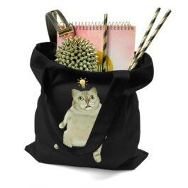 MUR Cat Original Photo Idea Lamp Meme Shoulder Bag 2 - Orezoria Aesthetic Outfits Shop - eGirl Outfits - Soft Girl Outfits