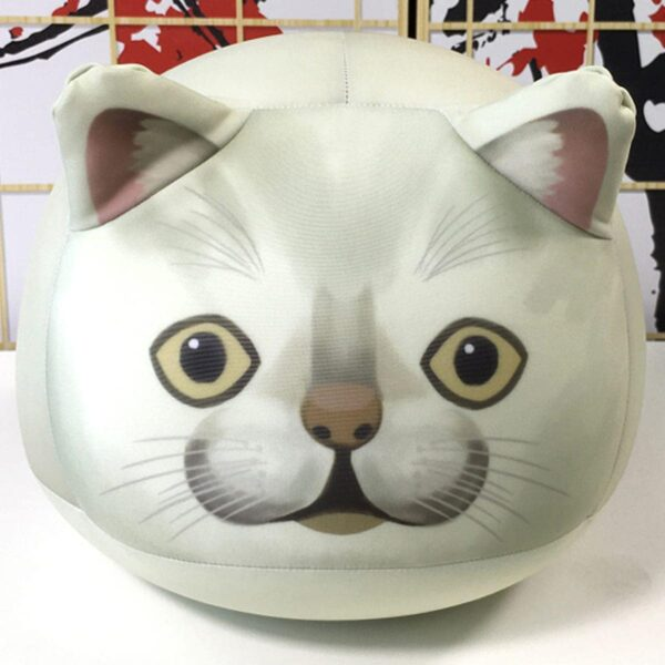 MUR Cat Round Plush Toy Meme Aesthetic 1 - Orezoria Aesthetic Outfits Shop - eGirl Outfits - Soft Girl Outfits