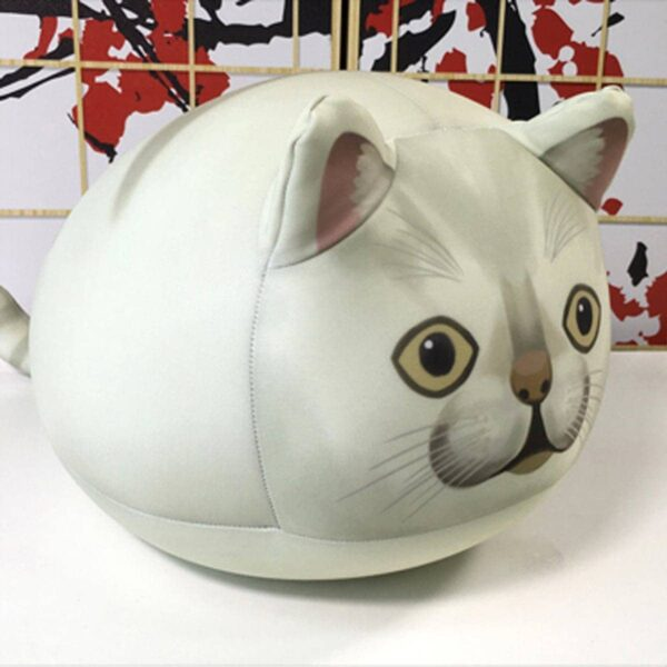 MUR Cat Round Plush Toy Meme Aesthetic 3 - Orezoria Aesthetic Outfits Shop - eGirl Outfits - Soft Girl Outfits