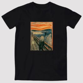 MUR Cat Scream Edvard Munch T-Shirt Meme Aesthetic 1 - Orezoria Aesthetic Outfits Shop - eGirl Outfits - Soft Girl Outfits