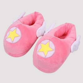 Magic Star Soft Pink BabyGirl Slippers With Wings 2 - Orezoria Aesthetic Outfits Shop - eGirl Outfits - Soft Girl Outfits