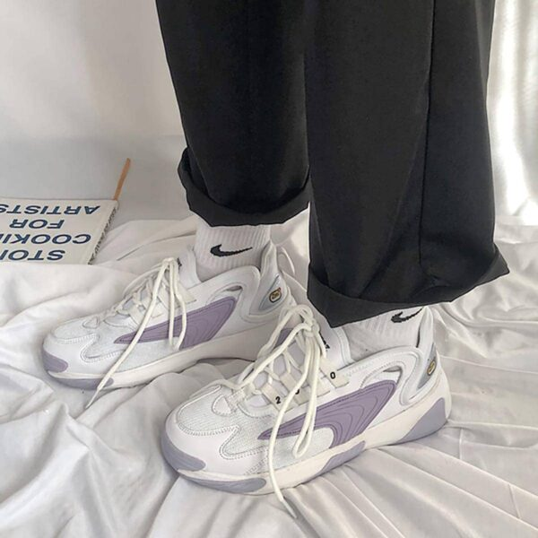 Pastel Violet Sneakers Y2K Style Aesthetic 3- Orezoria Aesthetic Outfits Shop - eGirl Outfits - Soft Girl Outfits