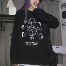 Planet Parade Witch Ritual Aesthetic Long Sleeve 1- Orezoria Aesthetic Outfits Shop - eGirl Outfits - Soft Girl Outfits