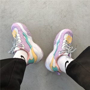 Purple Tide Retro 90s Aesthetic Sneakers 2- Orezoria Aesthetic Outfits Shop - eGirl Outfits - Soft Girl Outfits