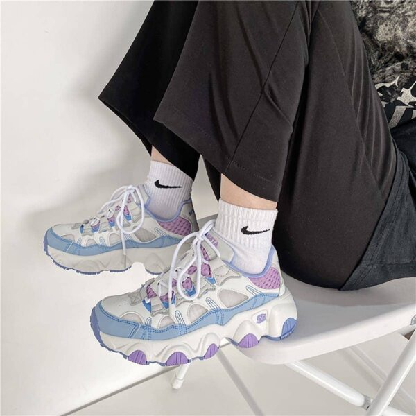 Soft Girl Pastel Retro Style Running Sneakers 3- Orezoria Aesthetic Outfits Shop - eGirl Outfits - Soft Girl Outfits