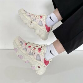 Soft Girl Pastel Retro Style Running Sneakers 4- Orezoria Aesthetic Outfits Shop - eGirl Outfits - Soft Girl Outfits