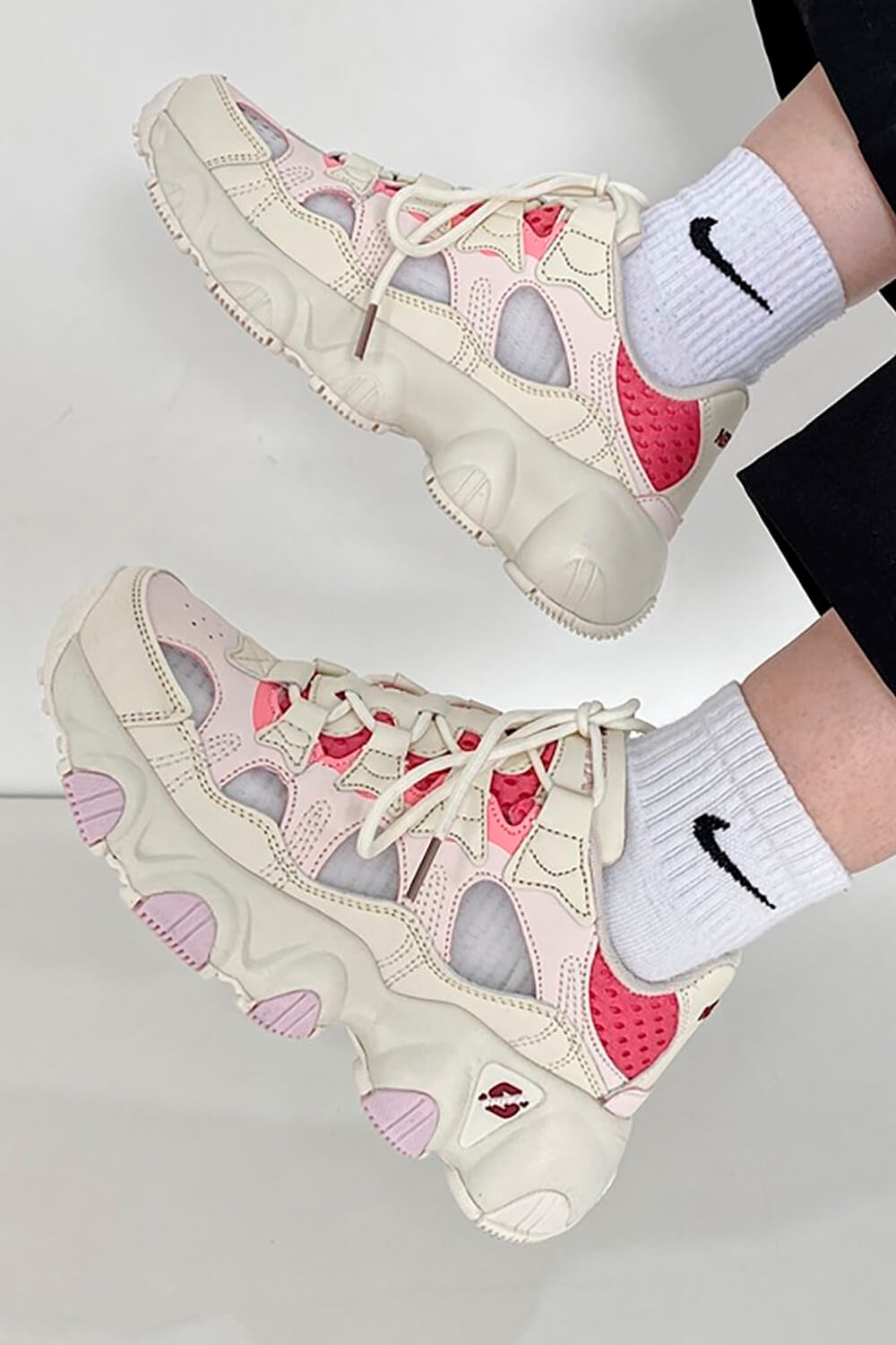 Soft Girl Pastel Retro Style Running Sneakers