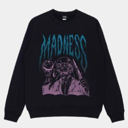 Madness Loose Warm Sweatshirt - Orezoria Aesthetic Outfits Shop - Aesthetic Clothing - eGirl Outfits - Soft Girl Outfits.psd