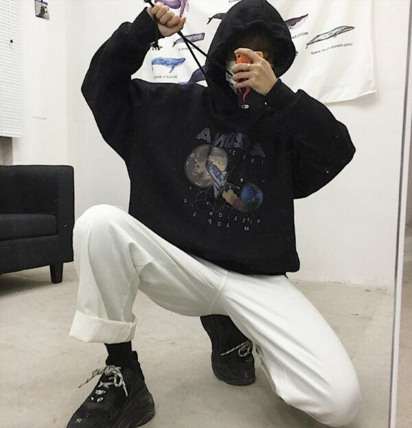 Arizona Space Shuttle Unisex Hoodie 2- Orezoria Aesthetic Outfits Shop - Aesthetic Clothing - eGirl Outfits - Soft Girl Outfits