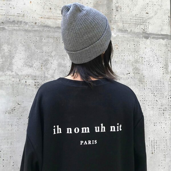 Bad Kid Smoking Face Print Sweatshirt 2- Orezoria Aesthetic Outfits Shop - Aesthetic Clothing - eGirl Outfits - Soft Girl Outfits