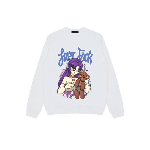 Baddie Elf Anime Girl Sweatshirt (2) - Orezoria Aesthetic Outfits Shop - Aesthetic Clothing - eGirl Outfits - Soft Girl Outfits.psd