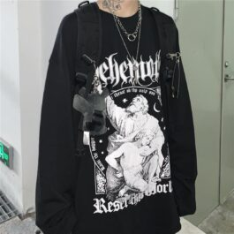 Behemoth Abraham Oversized Sweatshirt 1 - Orezoria Aesthetic Outfits Shop - Aesthetic Clothing - eGirl Outfits - Soft Girl Outfits.psd