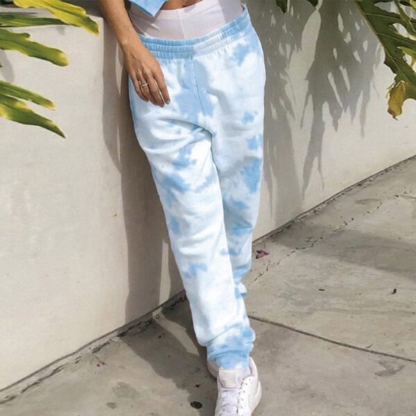 Bright Tie Dye Art Hoe Aesthetic Pant (2)- Orezoria Aesthetic Outfits Shop - Aesthetic Clothing - eGirl Outfits - Soft Girl Outfits