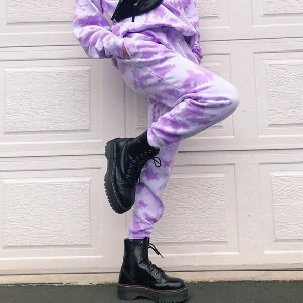Bright Tie Dye Art Hoe Aesthetic Pant (3)- Orezoria Aesthetic Outfits Shop - Aesthetic Clothing - eGirl Outfits - Soft Girl Outfits