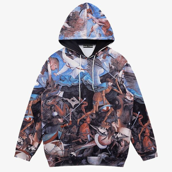 Bruegel The Fall of the Rebel Angels Hoodie 1 - Orezoria Aesthetic Outfits Shop - Aesthetic Clothing - eGirl Outfits - Soft Girl Outfits