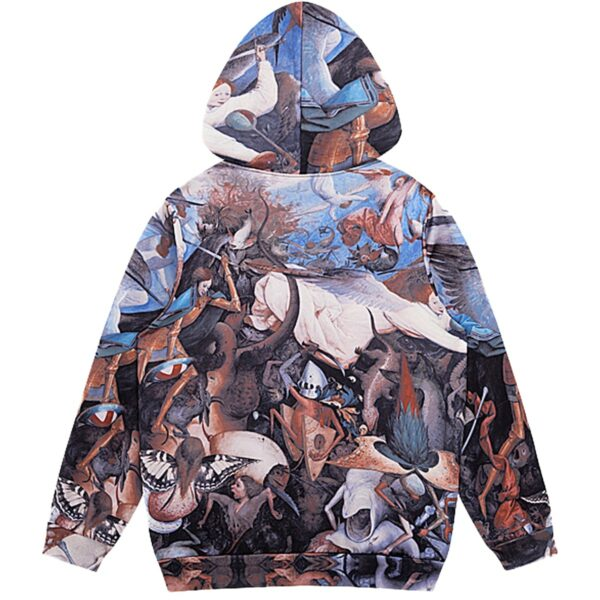 Bruegel The Fall of the Rebel Angels Hoodie 3 - Orezoria Aesthetic Outfits Shop - Aesthetic Clothing - eGirl Outfits - Soft Girl Outfits