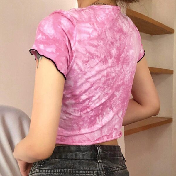 Butterfly Embroidery Tie Dye Crop Top 2 - Orezoria Aesthetic Outfits Shop - Aesthetic Clothing - eGirl Outfits - Soft Girl Outfits.psd