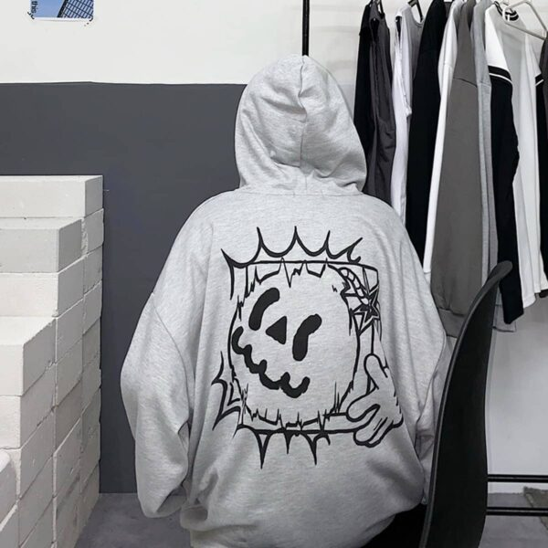 Cartoon Bomb Jack Oversized Hoodie 3 - Orezoria Aesthetic Outfits Shop - Aesthetic Clothing - eGirl Outfits - Soft Girl Outfits