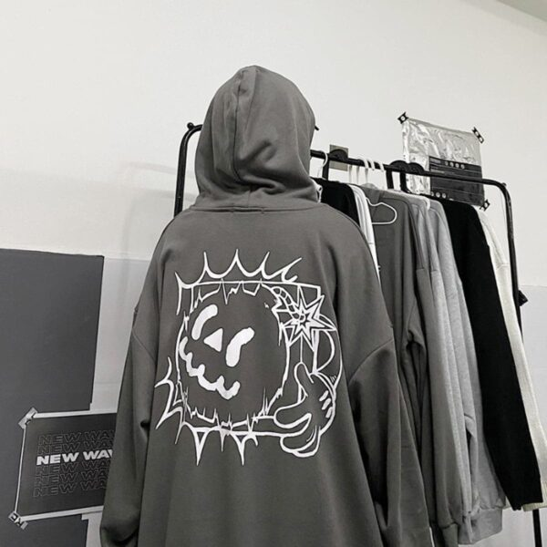 Cartoon Bomb Jack Oversized Hoodie 4 - Orezoria Aesthetic Outfits Shop - Aesthetic Clothing - eGirl Outfits - Soft Girl Outfits