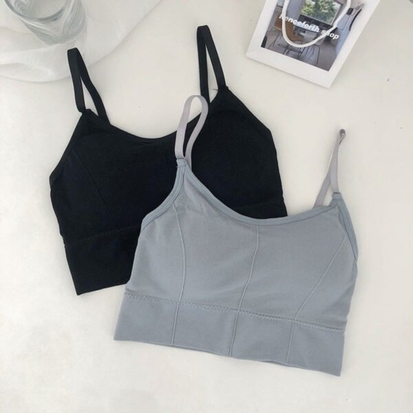 Casual Blank Seamless Ulzzang Crop Top - Orezoria Aesthetic Outfits Shop - Aesthetic Clothing - eGirl Outfits - Soft Girl Outfits.psd