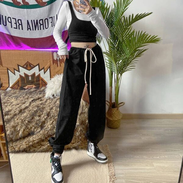 Casual Loose Hip-Hop Pants 3- Orezoria Aesthetic Outfits Shop - Aesthetic Clothing - eGirl Outfits - Soft Girl Outfits