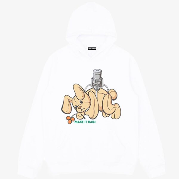 Catch Plush Toy Game Rabbit Hoodie 1 - Orezoria Aesthetic Outfits Shop - Aesthetic Clothing - eGirl Outfits - Soft Girl Outfits